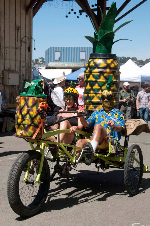 The Pineapple Express team looking great after they survived the Grand Kinetic Championship in Arcata!