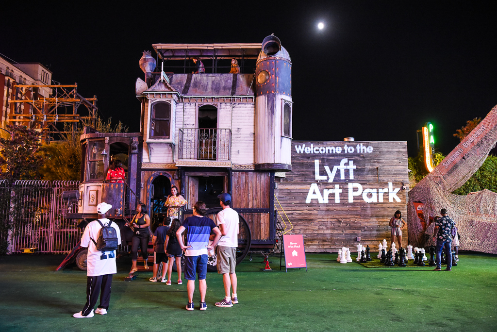 2018-2019: See the Neverwas Haul at the LYFT Art Park in Las Vegas! Corner of Fremont Street and N. Las Vegas Blvd.