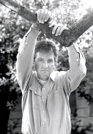 Self portrait, Sacramento, CA (1990)