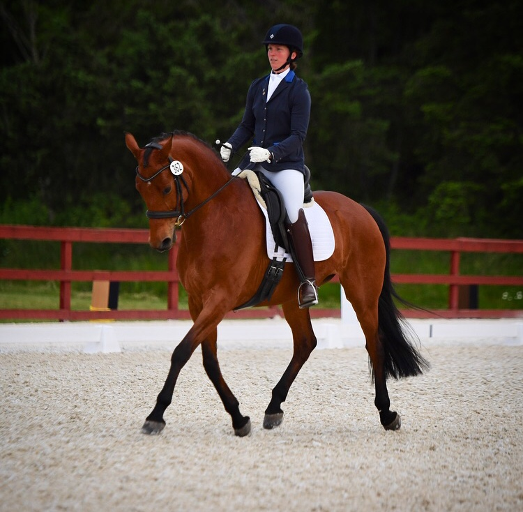 Emily and Catalina competing at Fourth level, Summervale Premier Dressage in June 2018. Catalina is owned by Emily Sorensen. Photo: Mike Fisher