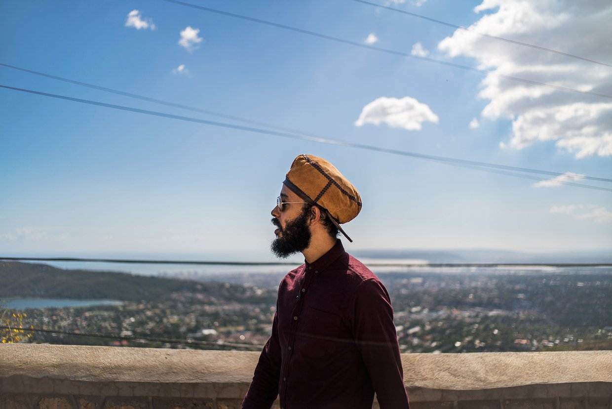 On Skyline Drive,overlooking Kingston - Photographed by Michael Christopher Brown/Magnum