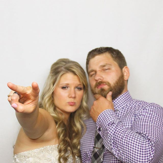 These two...congrats Ashley and Robert! |👰🏼👨🏻| #glowphotobooth #photoboothportland #photobooth #webringthefun #portland #pdx #beautyandthebeard101615