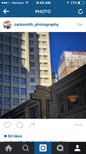Soft Focus, and Vignette filter in Instagram App