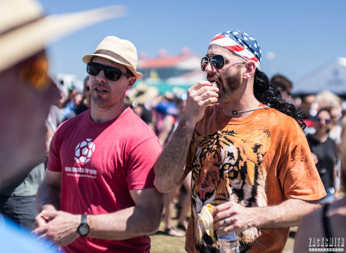 I saw fake mullet tiger shirt dude brah hanging with his bro.