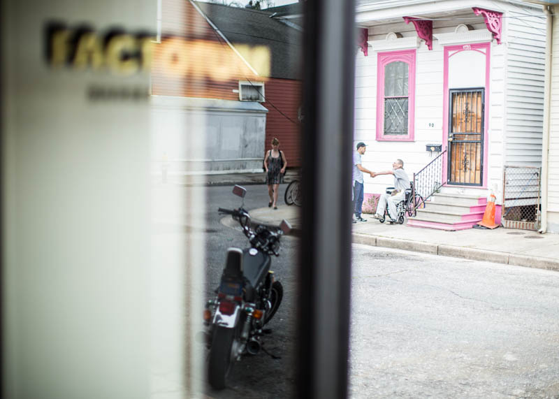 Zack-Smith-Photography-New-Orleans-jason-Barber-Shop-Bywater-Documentary-window-motorcycle