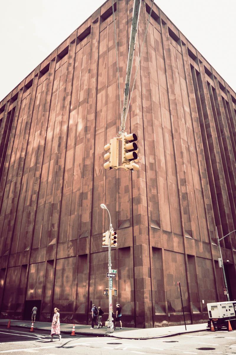 Zack Smith Photography New York City Street lights stoplights old building