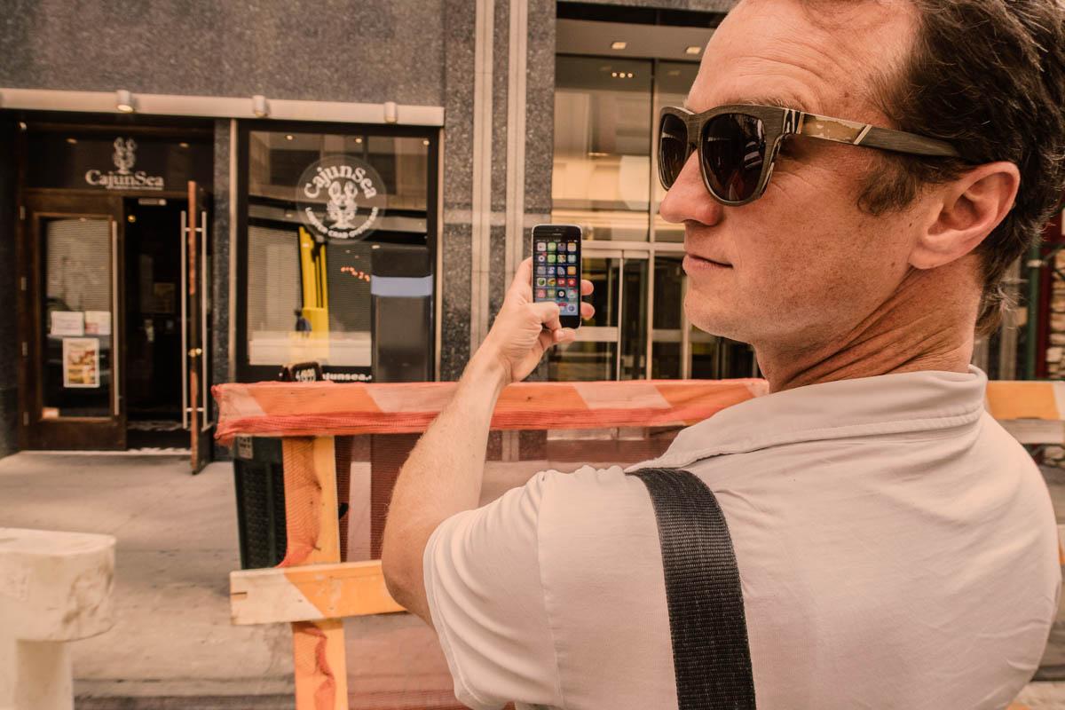 Zack Smith Photography New York City Pilette's Ghost Sunglasses CajunSea Iphone