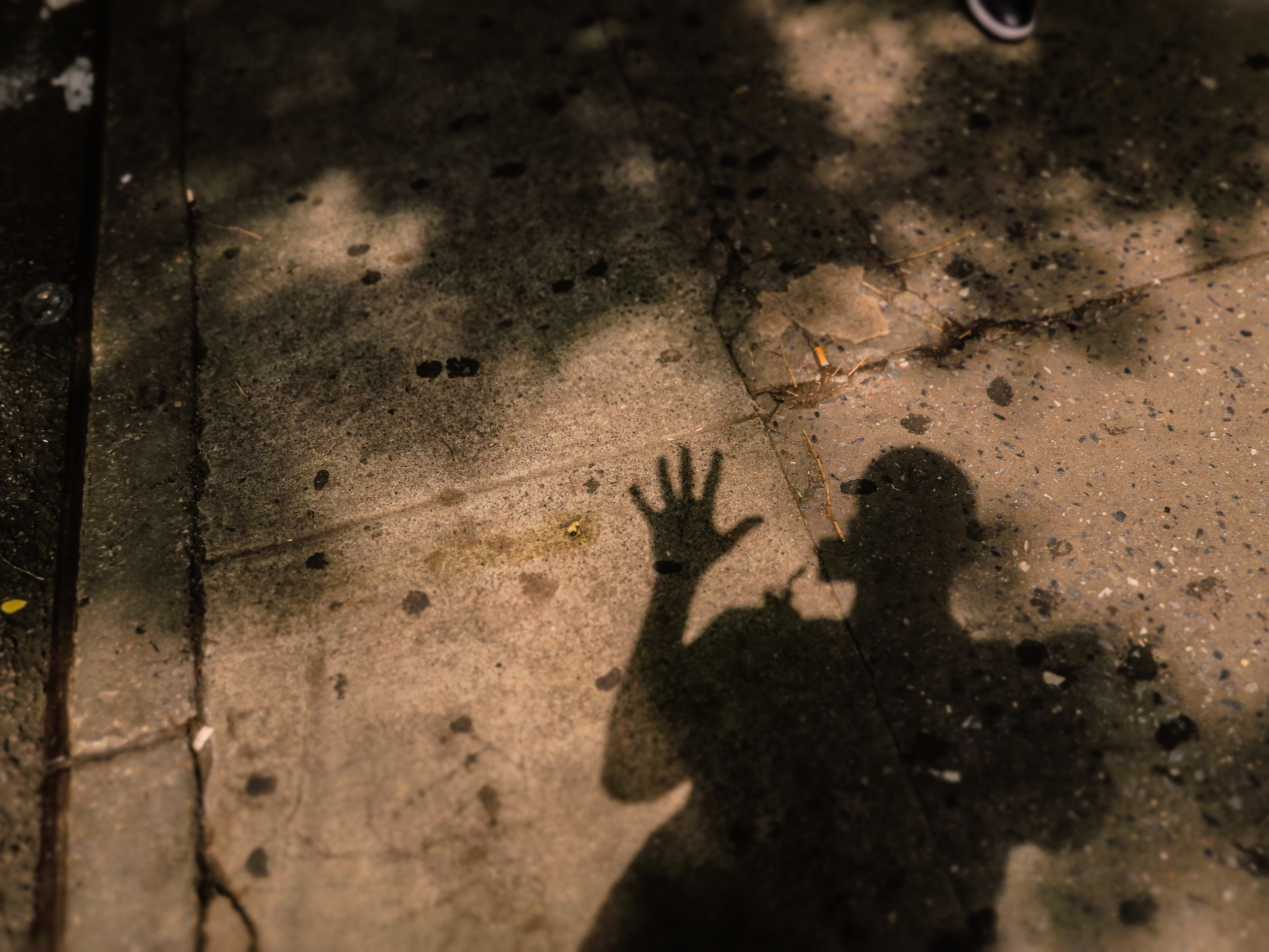 Zack Smith Photography New York City Pilette's Ghost Shadow person