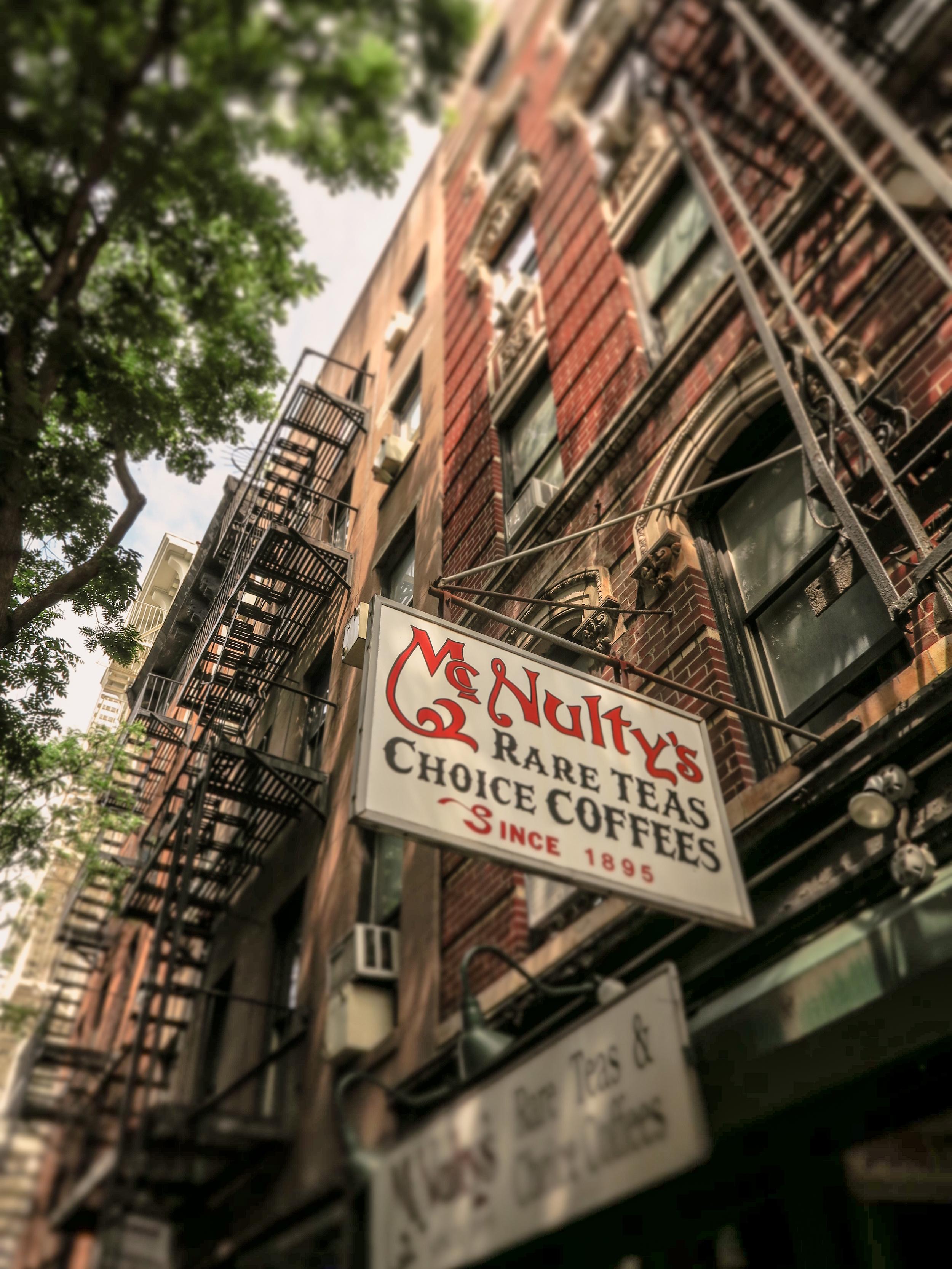 Zack Smith Photography New York City McNulty's Rare Teas Choice Coffees Fire Escape