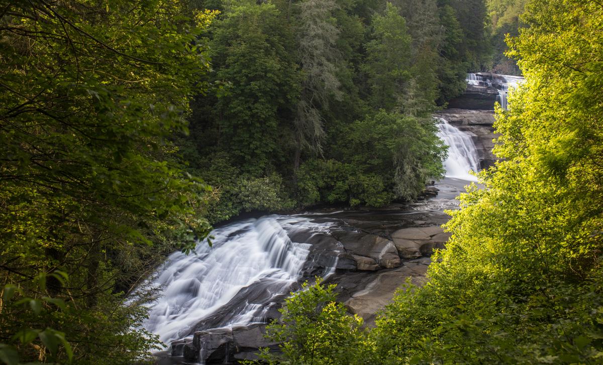 Zack Smith Photography North Carolina Brevard School of Music Center Nature Waterfall water beautiful rocks trees
