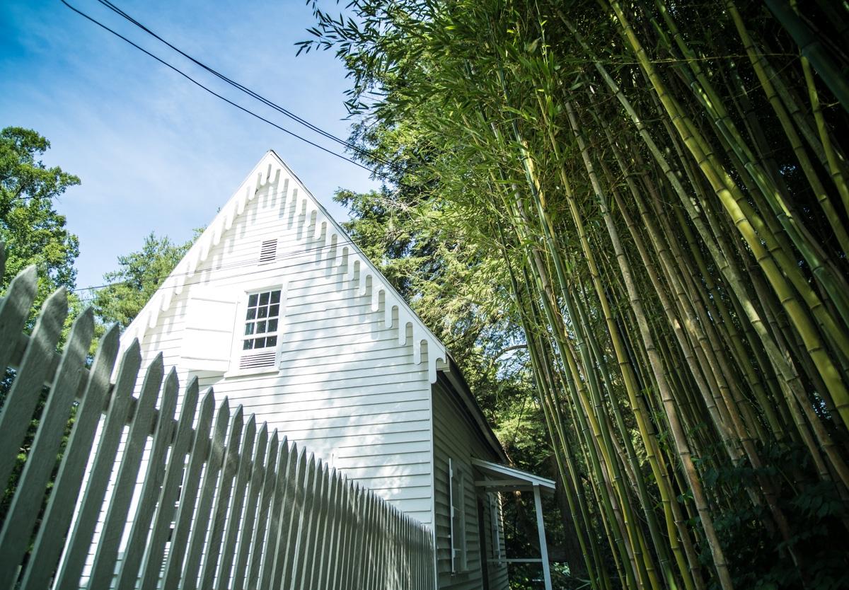Zack Smith Photography North Carolina Brevard School of Music Center Bamboo nature white fence house beautiful