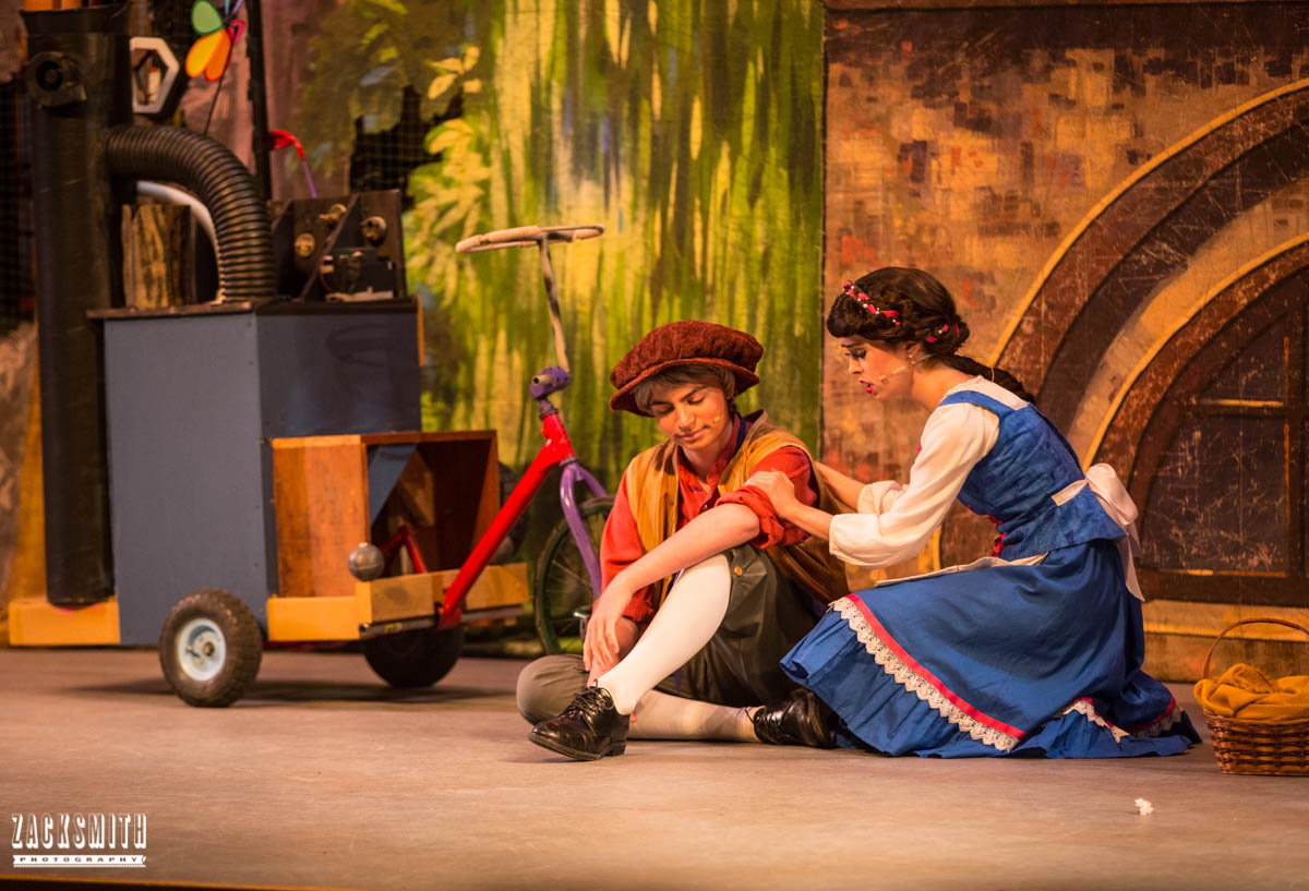 Beauty and the Beast The Performing Arts Academy Talent Performance Photography Zack Smith Photographer Chalmette Belle Maurice Stage Show Machine