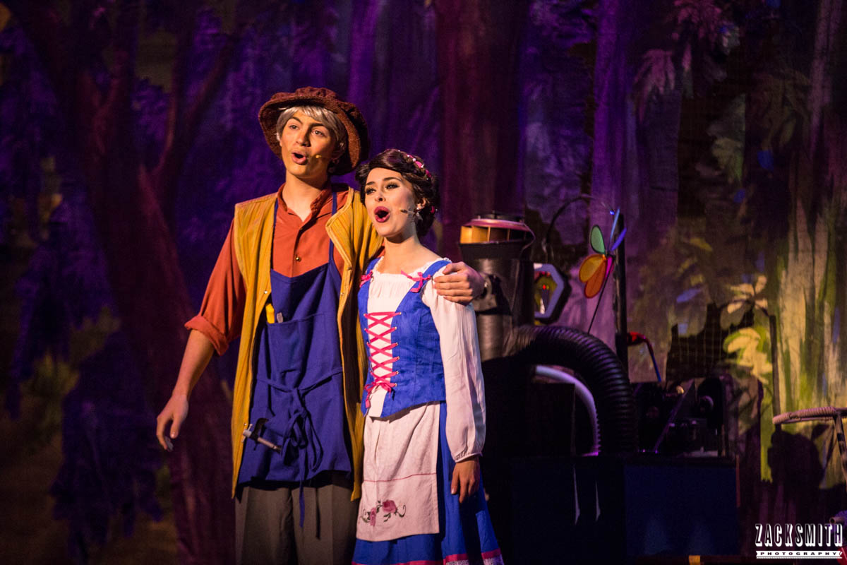 Beauty and the Beast The Performing Arts Academy Talent Performance Photography Zack Smith Photographer Chalmette Belle Maurice Father Daughter No Matter What Musical