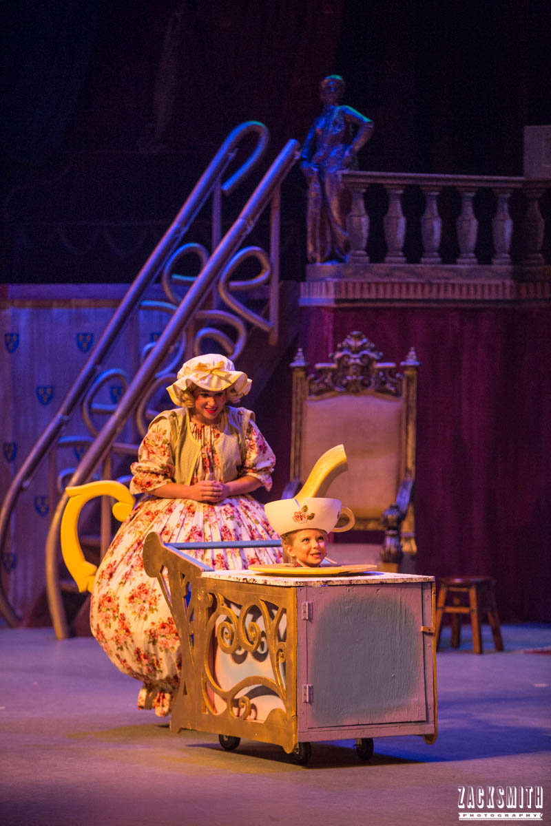 Beauty and the Beast The Performing Arts Academy Talent Performance Photography Zack Smith Photographer Chalmette Mrs Pots Chip Musical theater