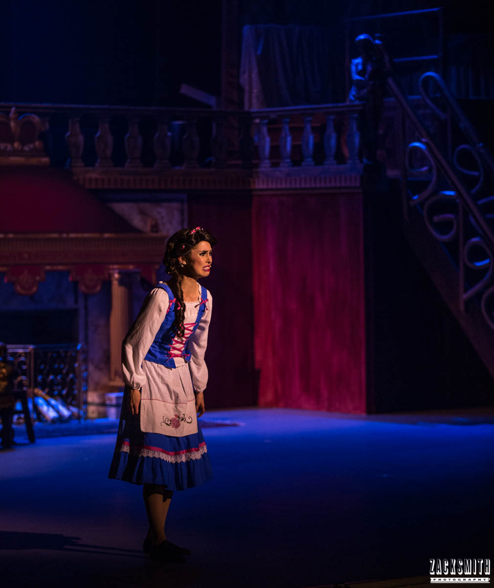Beauty and the Beast The Performing Arts Academy Talent Performance Photography Zack Smith Photographer Chalmette Belle Sad Home