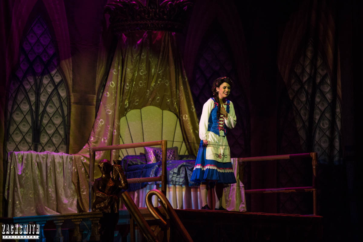 Beauty and the Beast The Performing Arts Academy Talent Performance Photography Zack Smith Photographer Chalmette Belle Stage Musical theater Scenery