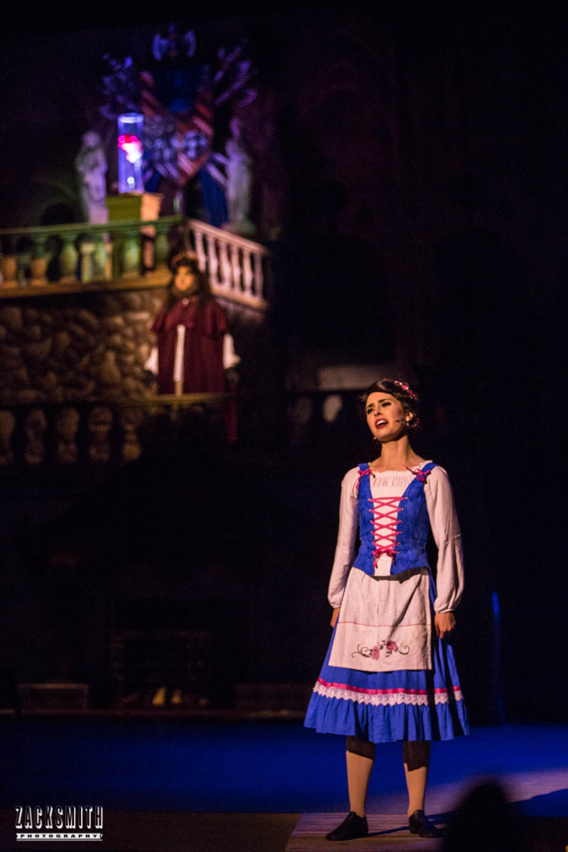 Beauty and the Beast The Performing Arts Academy Talent Performance Photography Zack Smith Photographer Chalmette Musical Theater Belle West Wing Rose