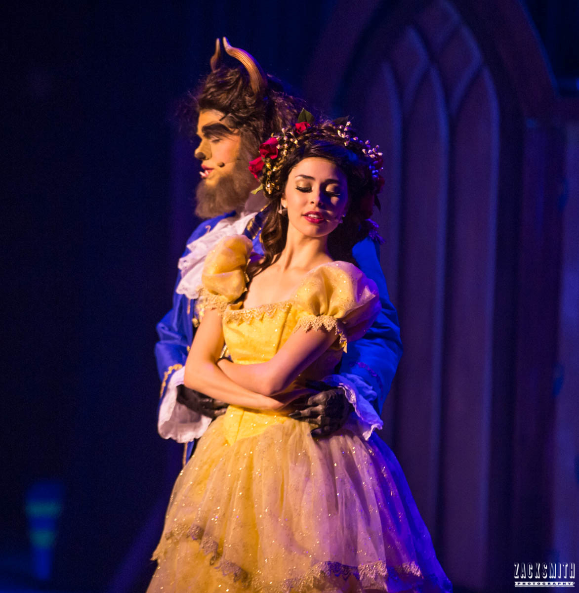 Beauty and the Beast The Performing Arts Academy Talent Performance Photography Zack Smith Photographer Chalmette Musical Theater Belle Beast Dance