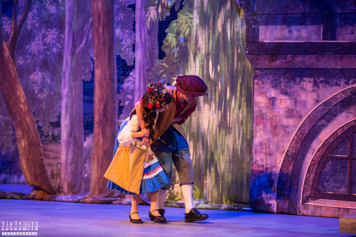 Beauty and the Beast The Performing Arts Academy Talent Performance Photography Zack Smith Photographer Chalmette Musical Theater Belle Father hurt