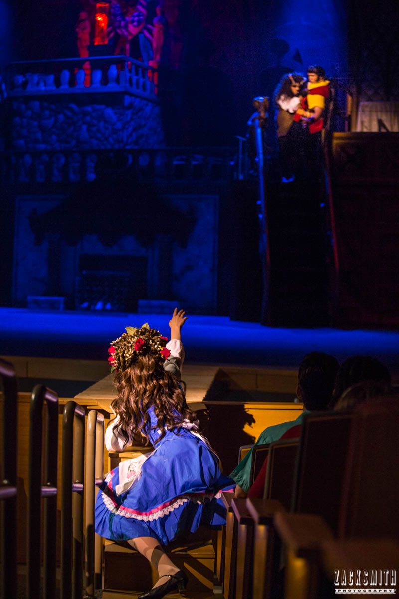 Beauty and the Beast The Performing Arts Academy Talent Performance Photography Zack Smith Photographer Chalmette Musical Theater Belle Beast Gaston Fight Scene