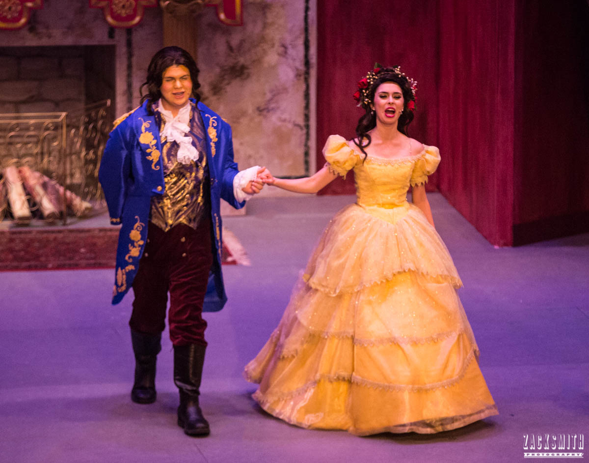 Beauty and the Beast The Performing Arts Academy Talent Performance Photography Zack Smith Photographer Chalmette Musical Theater Belle Beast love