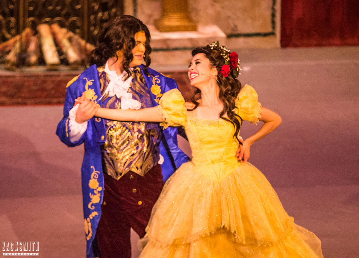 Beauty and the Beast The Performing Arts Academy Talent Performance Photography Zack Smith Photographer Chalmette Musical Theater Belle Beast Dance finale