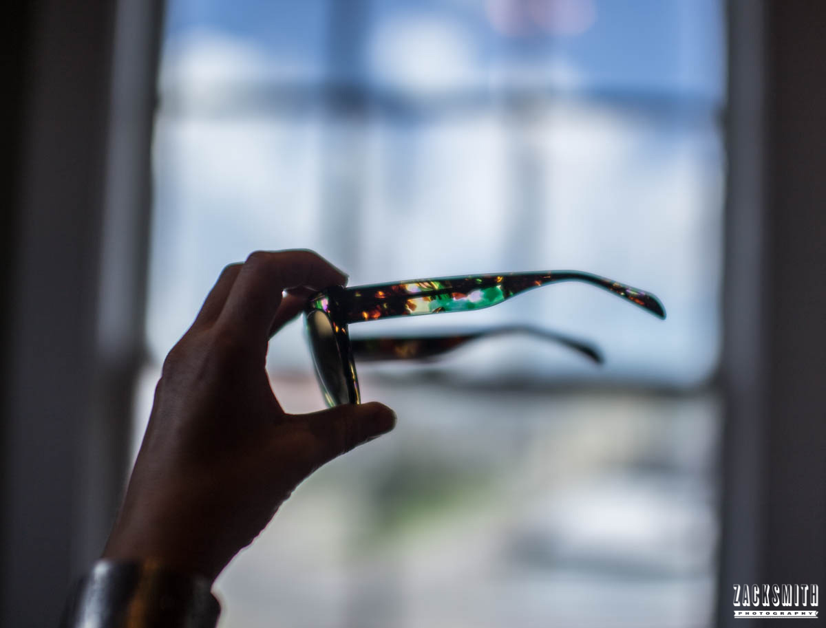 St Charles Vision portrait photo shoot with Zack Smith Photography New Orleans glasses focus