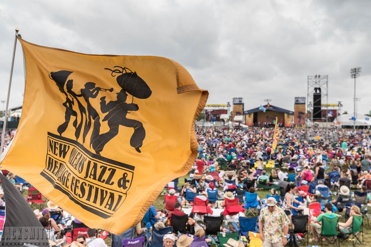 Amidst the crowds and logos and branding there is magic, mystery and tons of moments during Jazz Fest in New Orleans, Louisiana. ©Zack Smith Photography 2017