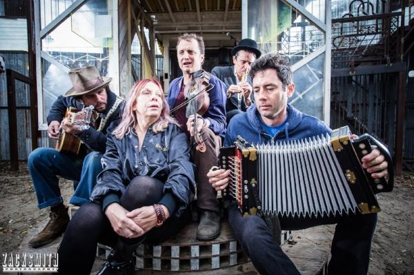 Lost Bayou Ramblers, Langhorn Slim, Rickie Lee Jones and Spider Stacy serenade the Music Box...