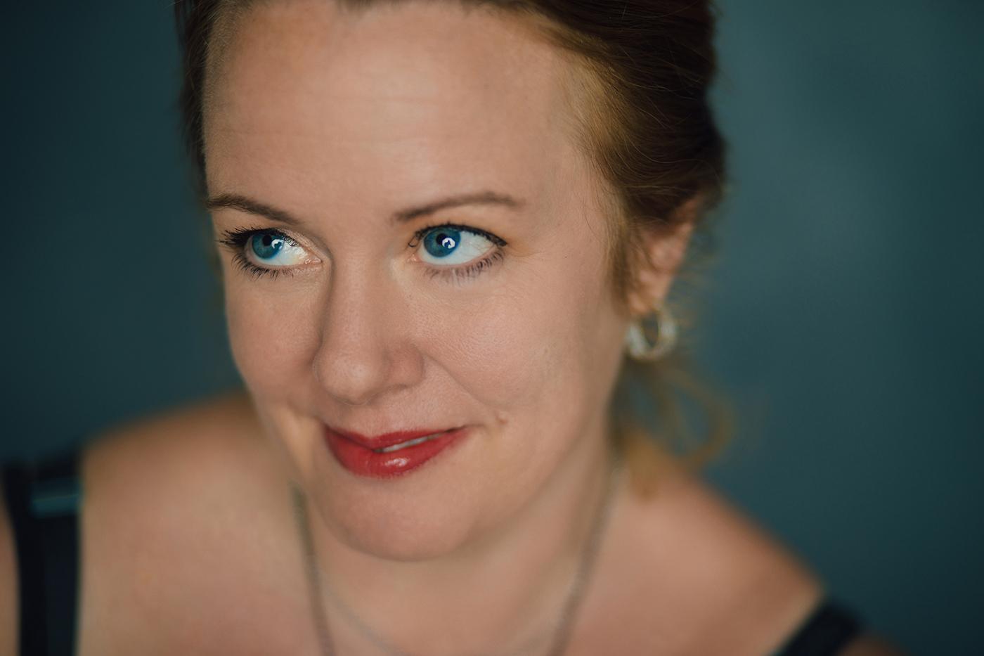 Debbie Davis photographed at my studio on Magazine Street in New Orleans, 2018