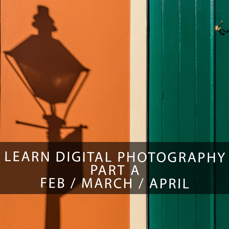 Learn Digital Photography in New Orleans Session A - Learn how to use your digital SLR or mirrorless camera to capture the high quality images you deserve. Learn composition techniques, how to use aperture, shutter speed, and editing in Lightroom to produce your best photography yet. What are you waiting for, sign up now!