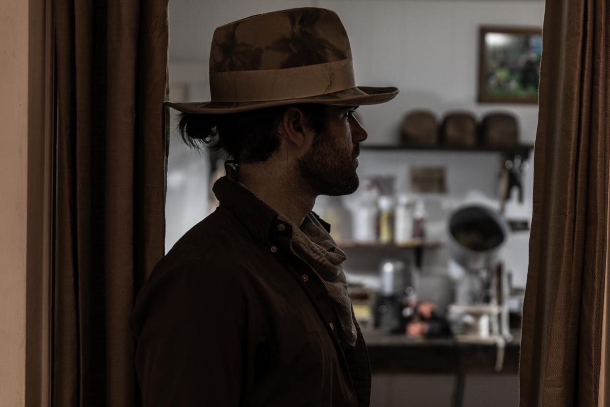 Colby Hebert, hat maker