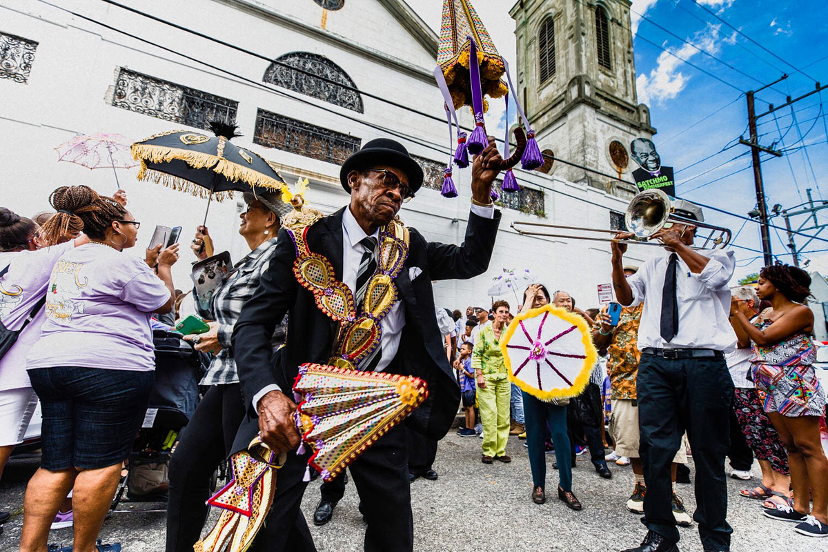 Treme Brass Band, St. Augustine Church