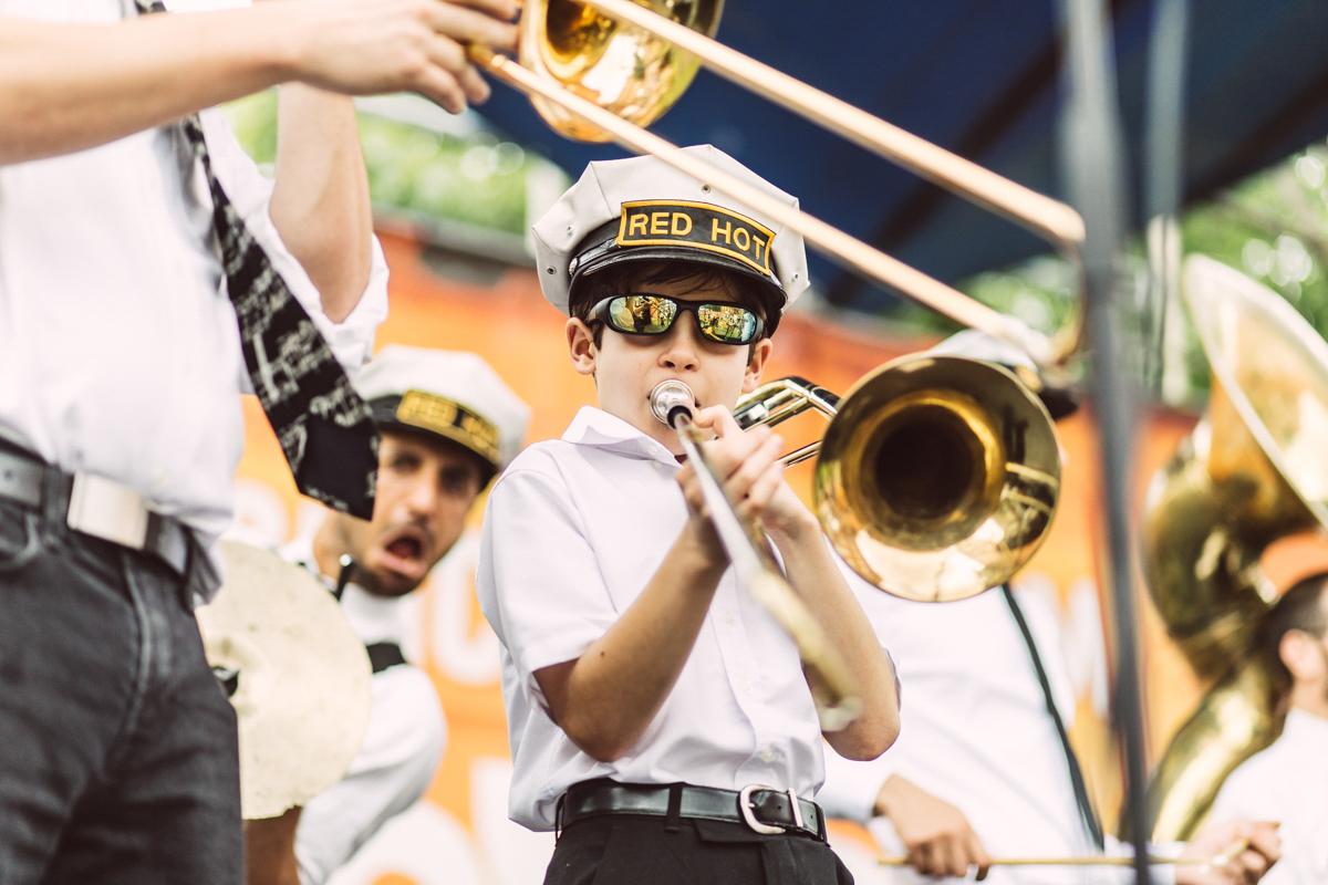 John Sanpietro, Red Hot Brass Band