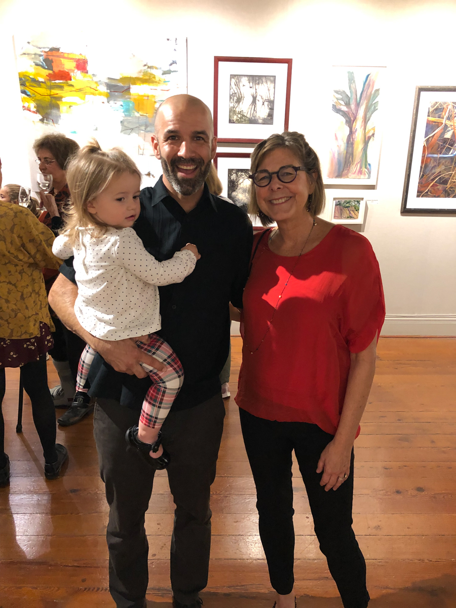Vega, Zack, and one of Zack's mentors Victoria Ryan
