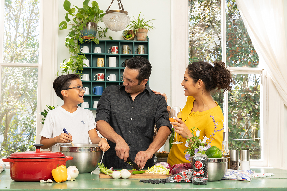 Lifestyle Photoshoot for Camelia Beans Brand