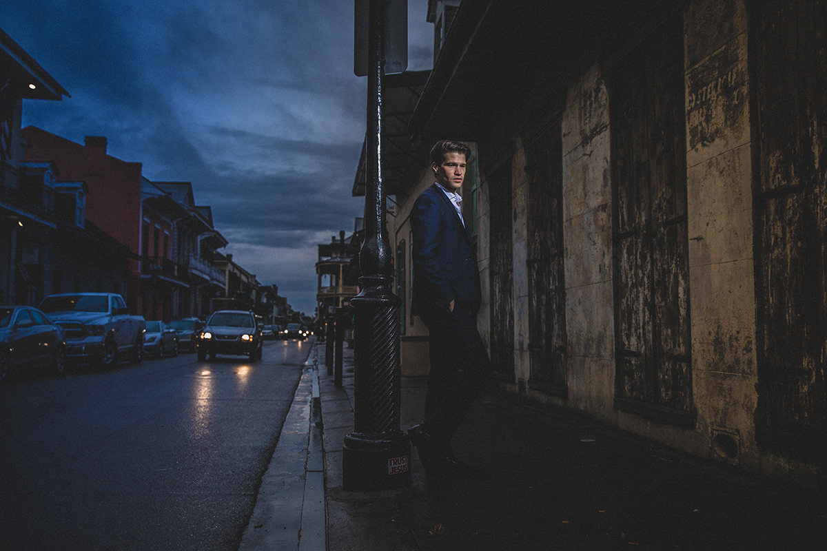 James Martin photographed in the French Quarter. ©Zack Smith Photography 2019