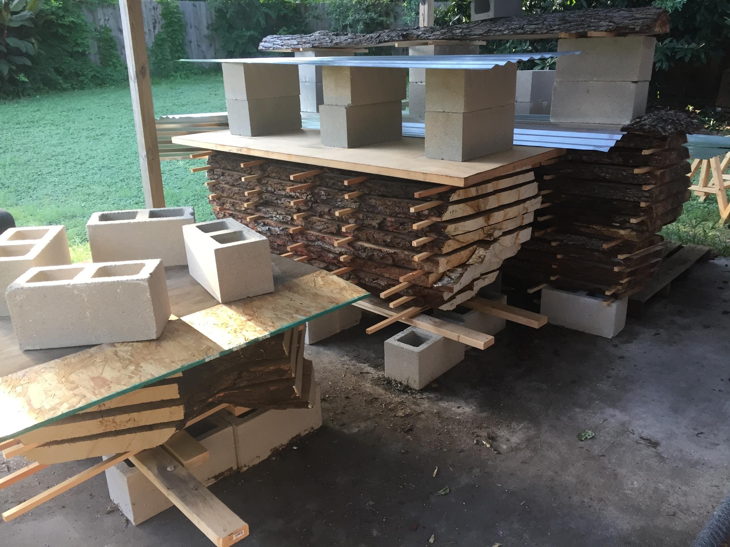 Beginnings of a Lumber yard