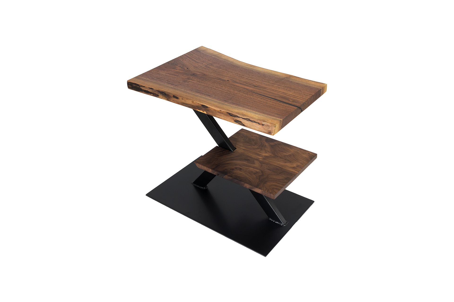 Custom Made Walnut Occasional Table - Custom Made In 2018