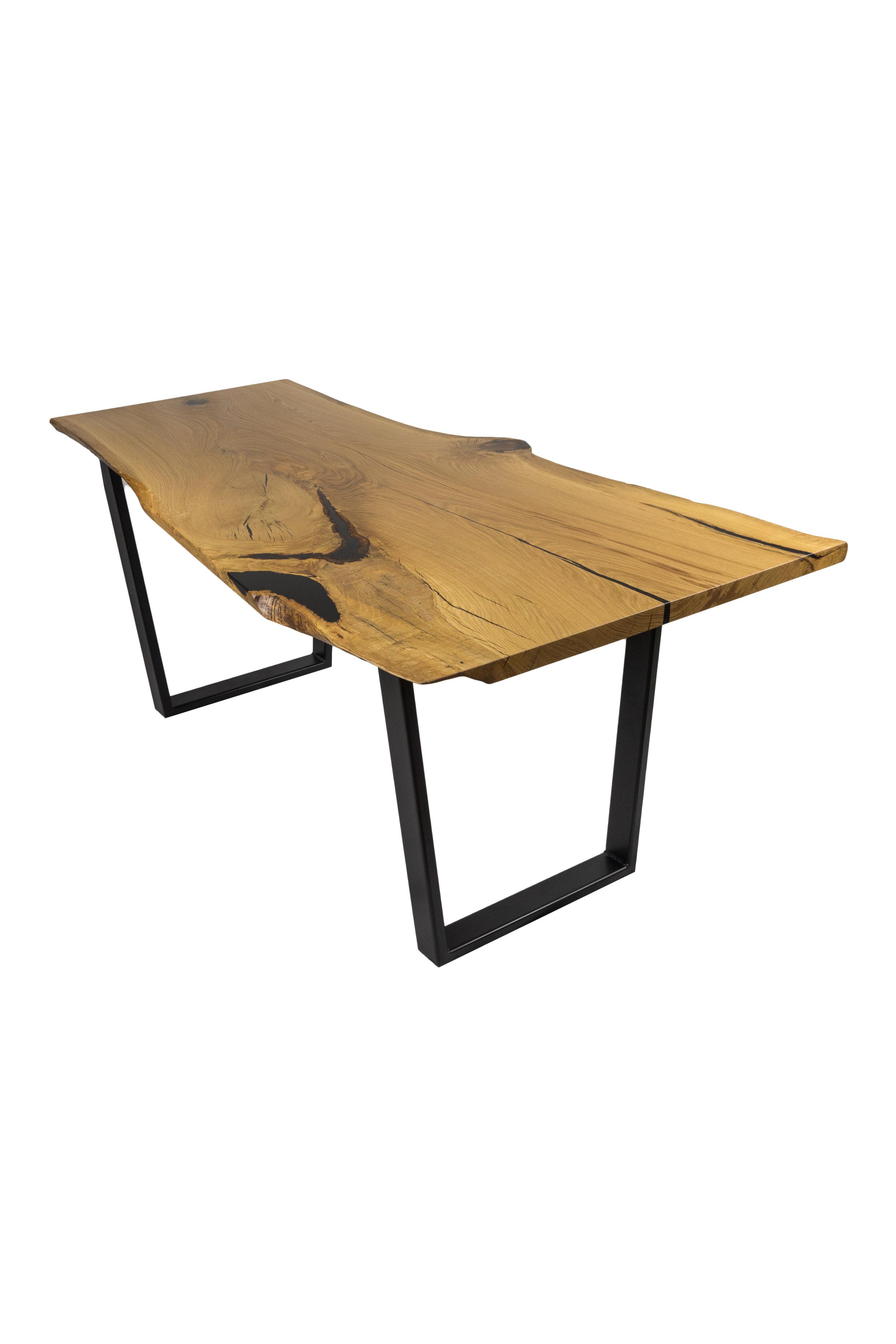 White Oak Dining Table - Custom Made In 2017