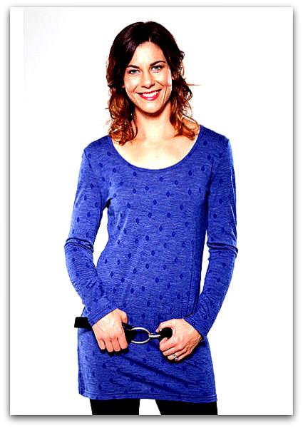 Merino tunic | Womens merino knitwear NZ