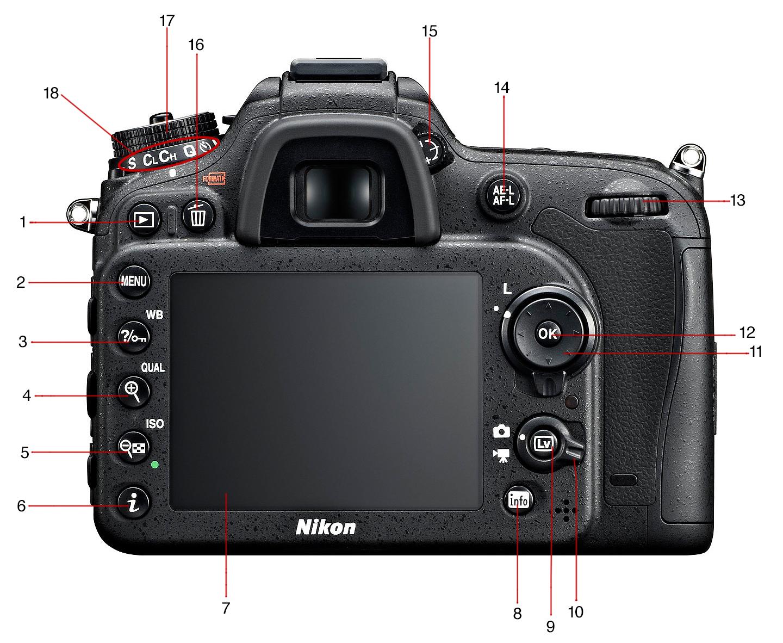 Nikon Button Layout