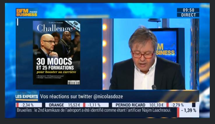 """BFM TV et radio """" les experts """" écouter à la minute 19:10"""