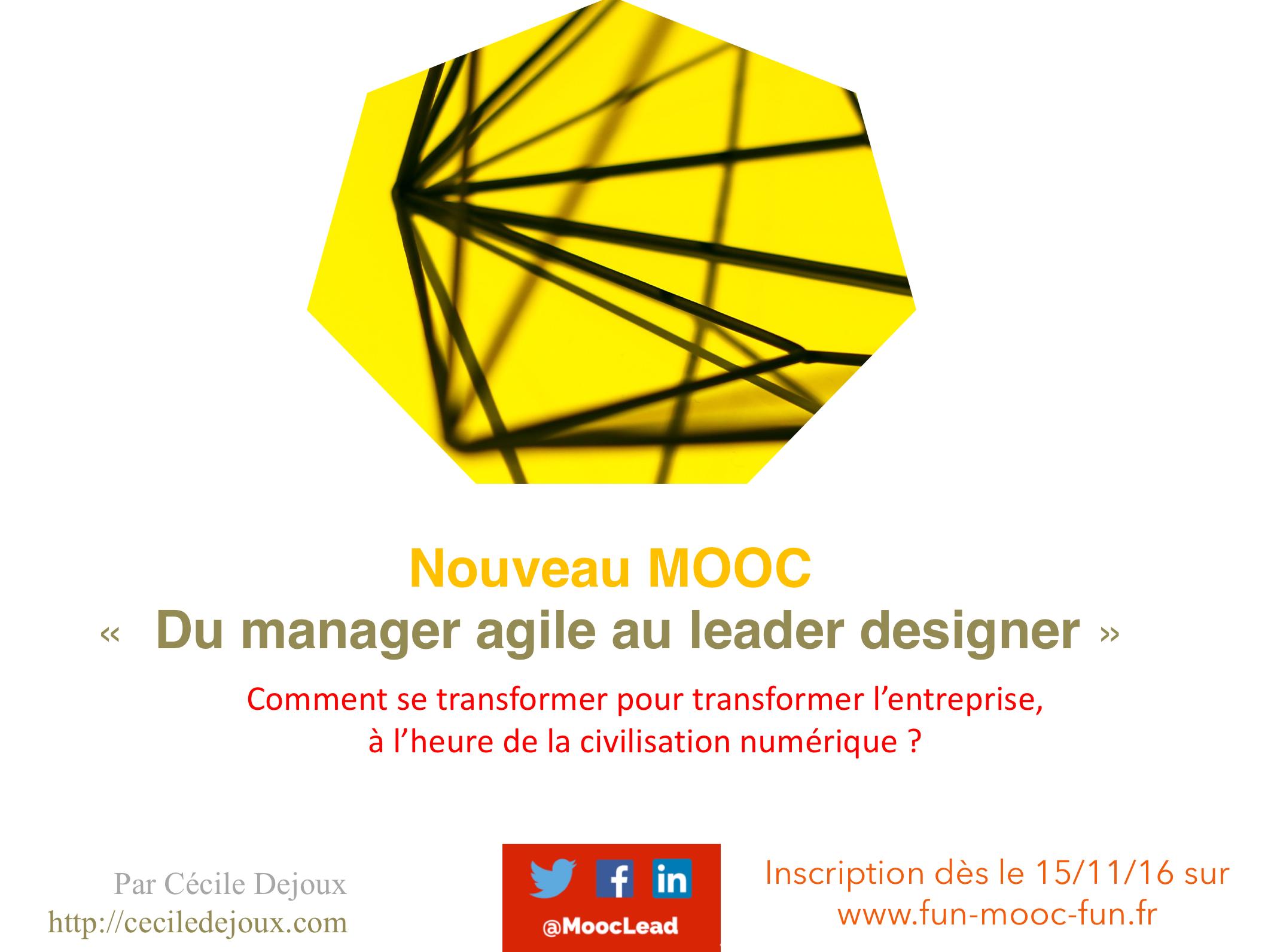 Inscription le 15 novembre 2016 sur  http://www.fun-mooc.fr