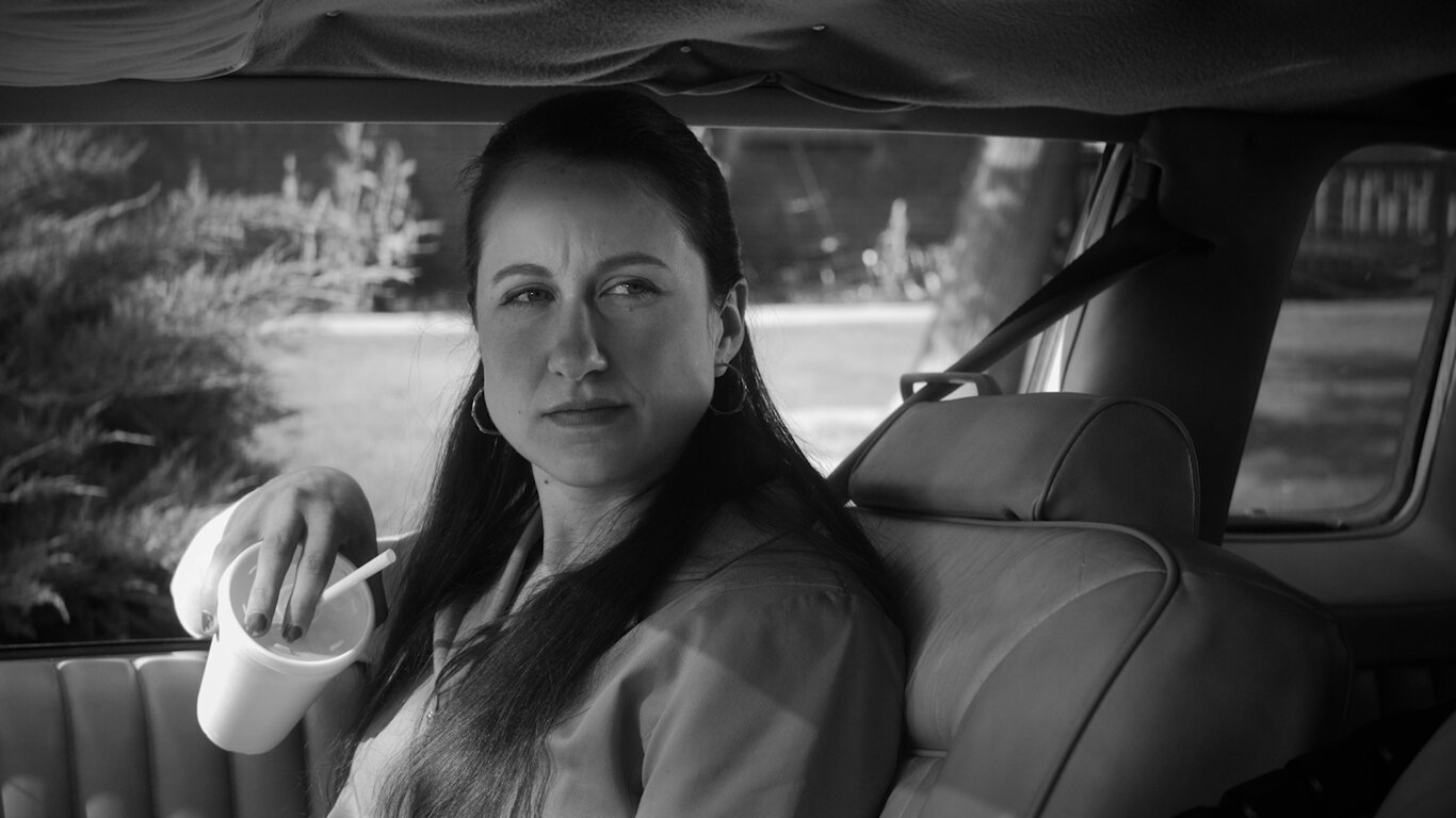 Sara Anne Lynch as Sue Duffrey in Gregory Bayne's 6 Dynamic Laws for Success in Life, Love & Money