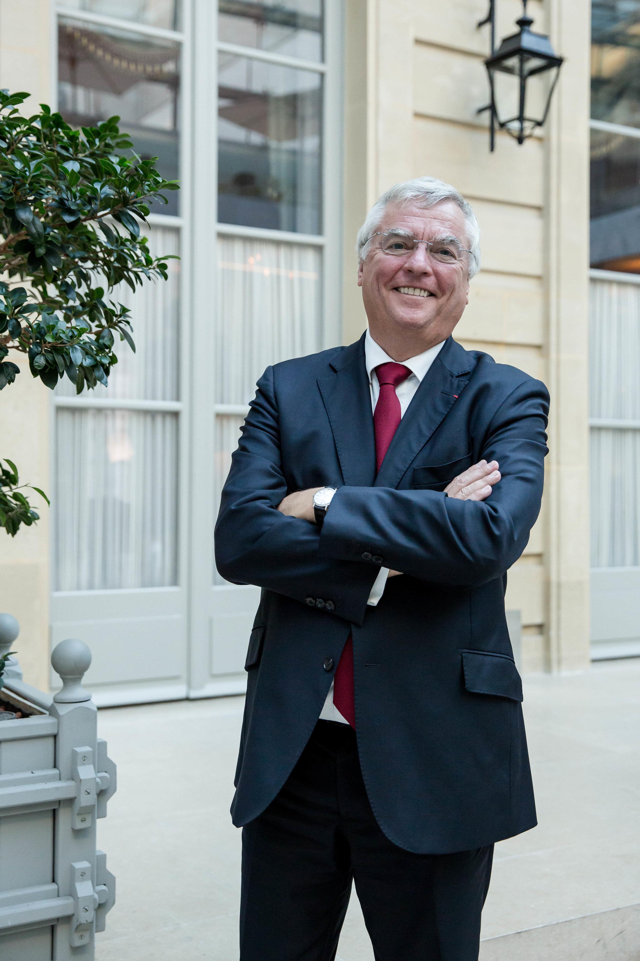 Jean-Luc PETITHUGUENIN    Fondateur et PDG,  PAPREC