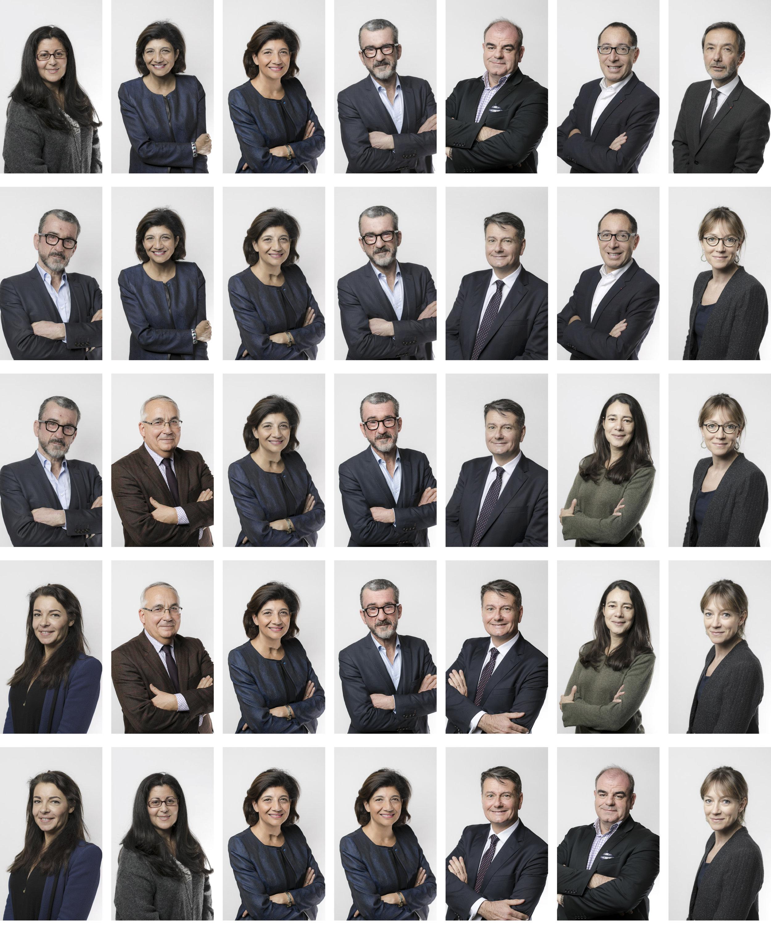 Membres du Conseil National des Barreaux 2018