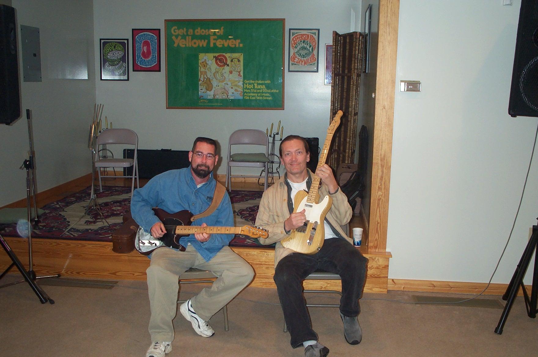 Rob and G.E. Smith