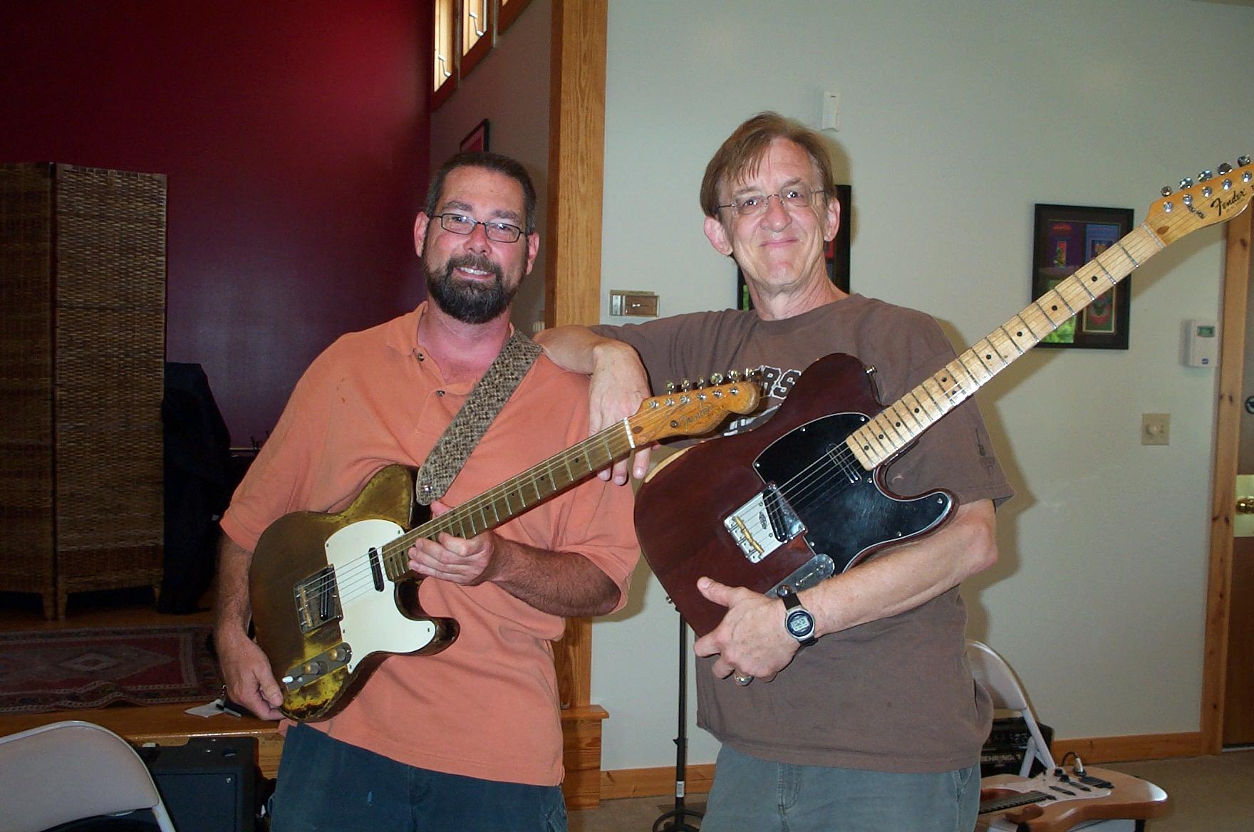 Rob and Bill Kirchen