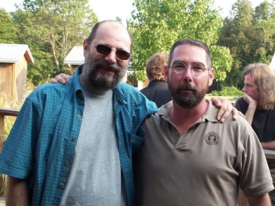 Michael Falzarano and Rob